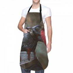 Various sizes Captain America Waterproof apron #595036 Adjustable Aprons for Kitchen Cooking