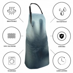 Dainty Multi-size thriller Waterproof apron #597014 Water Resistant with Apron for Cooking