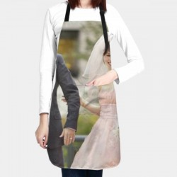 The Vow Waterproof apron #598218 Multi-size Thicker Version Waterproof Apron Adjustable